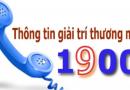 Cước phí gọi vào tổng đài đầu số 1900