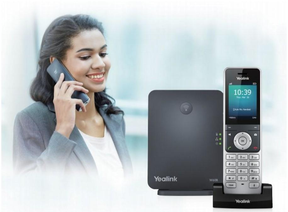 dien thoai yealink W60P - Điện thoại ip yealink wifi W60P
