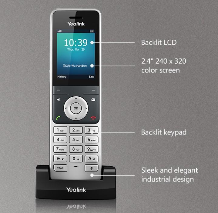 dien thoai yealink w56h - Điện thoại IP yealink W56H