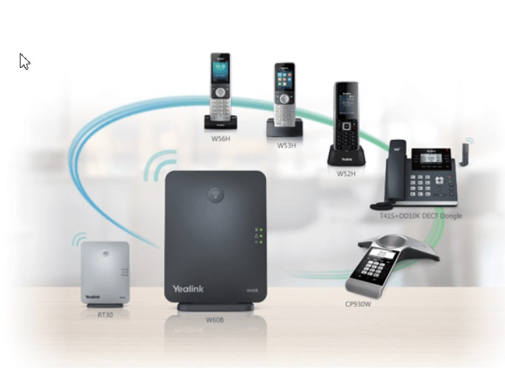 Điện thoại IP yealink w60P.