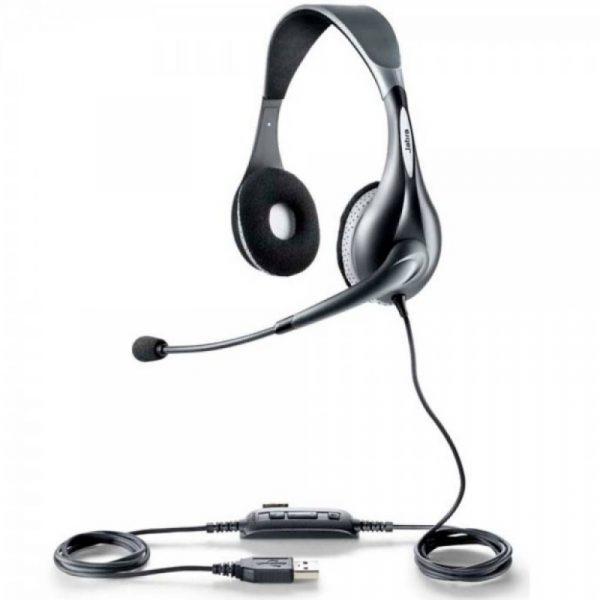 tai nghe callcenter Jabra UC 150 Duo tong quan 600x600 - Tai Nghe Callcenter Jabra UC150 Duo