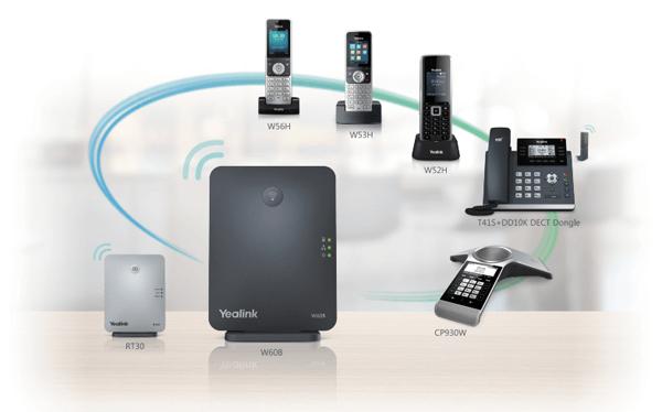 Điện thoại ip Yealink w53P mở rộng linh hoạt