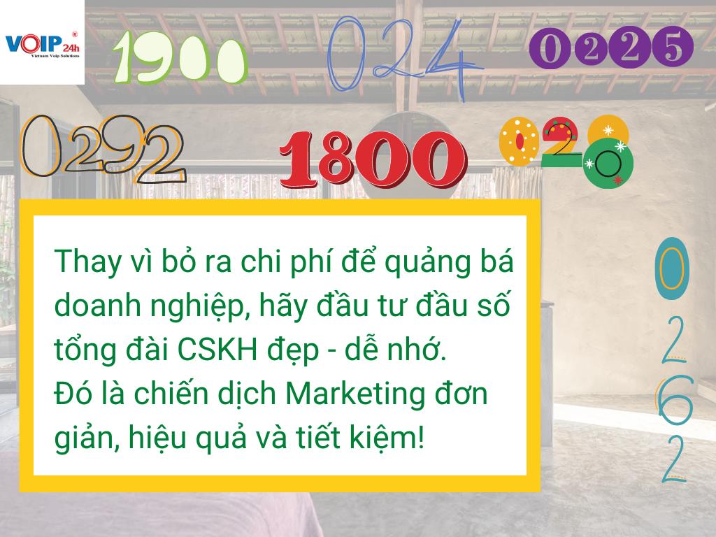 Mua số tổng đài CSKH