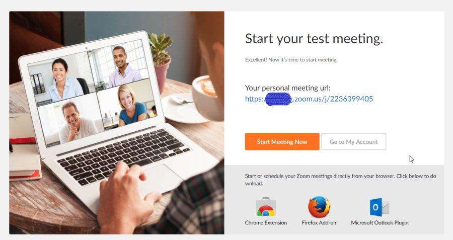 Đăng ký Zoom meeting rất đơn giản