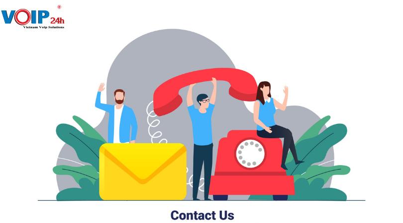 Voip24h cung cấp dịch vụ tư vấn và lắp đặt điện thoại cố định trọn gói