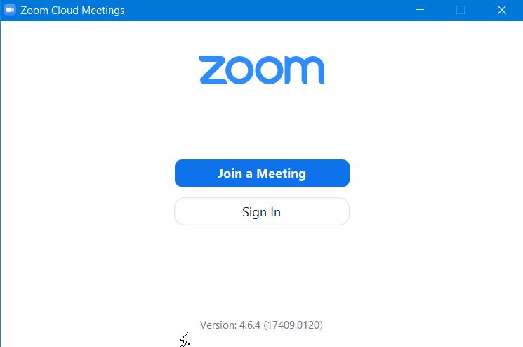 Hoàn tất cài đặt Zoom meeting sẵn sàng sử dụng