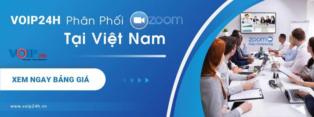 VOIP24H Phân Phối Zoom Cloud Meeting chính thức ở Việt Nam