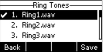 thay đổi nhạc chuông của điện thoại yealink T21 E2