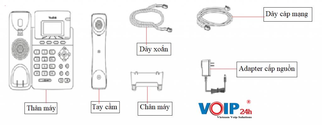 Linh phụ kiện điện thoại Yealink T19 E2