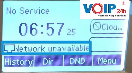 Lỗi không gọi được trên điện thoại Yealink T19 E2