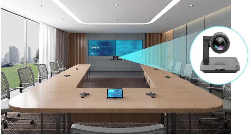 Yealink UVC84 dành cho phòng họp vừa và lớn
